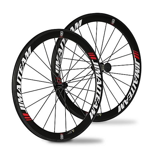 SHENHUA 700CC Колесные пары Велоспорт 23 mm / 25 mm Шоссейный велосипед Углеродное волокно / Полный углерод Клинчерная покрышка 20/24 Спицы 50 mm