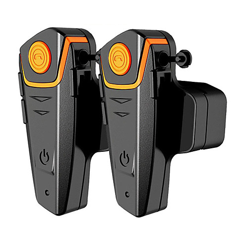 bt-s2-2 1 пара мотоциклов bluetooth гарнитура, мотоциклетный шлем интерком-интерфон mp3-плеер / рация