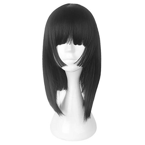 Парики для Лолиты Onmyoji Сладкое детство Черный Лолита Парики для Лолиты 18 дюймовый Косплэй парики Парики Хэллоуин парики фото