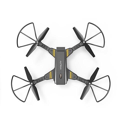 RC Дрон TKKJ TK116W 10.2 CM 6 Oси 2.4G С HD-камерой 2.0 мп Квадкоптер на пульте управления FPV Возврат Oдной Kнопкой Прямое Yправление