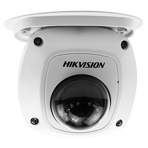 hikvision ds-2cd2542fwd - это 4-мегапиксельная мини-купольная камера ipod (poe 10m ir водонепроницаемый детектор движения и воспроизведение