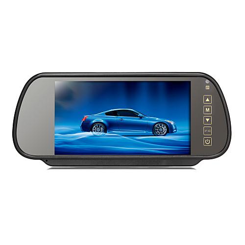 7-дюймовый парковка TFT-LCD монитор заднего вида автомобиля с подставкой обратная резервная камера высокого качества