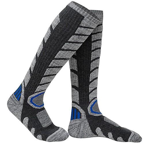 Муж. Жен. Спортивные носки Носки для катания на лыжах Катание на лыжах Воздухопроницаемость Пригодно для носки сохраняющий тепло Хлопок Носки Одежда для катания на лыжах / Зима фото
