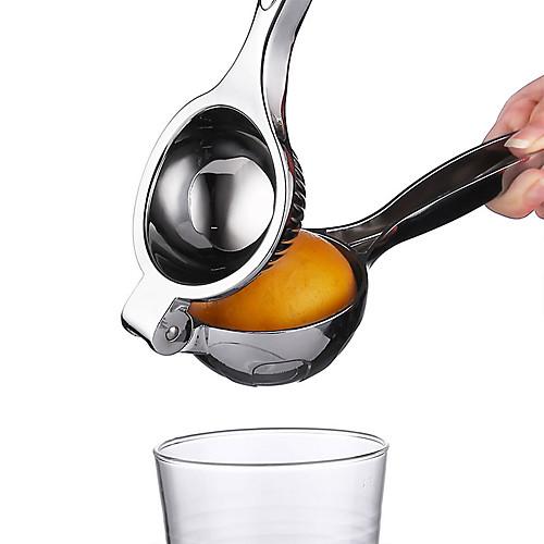Нержавеющая сталь ручной лимон соковыжималка соковыжималка апельсин цитрусовые лайм клип кухонные инструменты фото