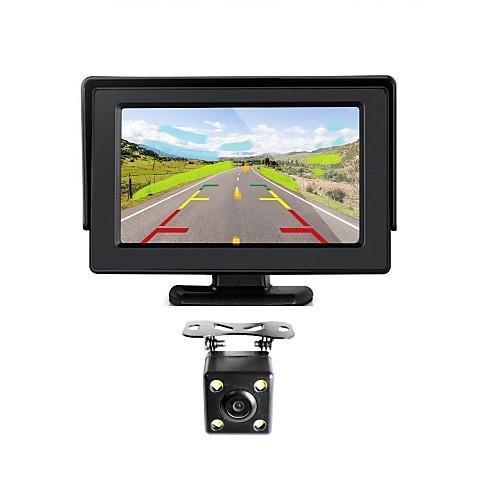 renepai 4,3 дюймовый монитор  беспроводной 170 ° HD заднего вида автомобиля камера  высокой четкости широкоугольный Водонепроницаемая