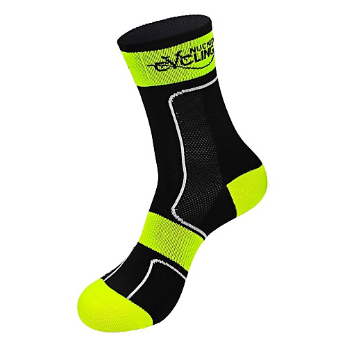 Компрессионные носки Длинные носки Носки для бега Спортивные носки Носки для велоспорта Муж. Жен. Бег Отдых и Туризм Спорт в свободное время Велоспорт Сохраняет тепло Дышащий Пригодно для носки 1 пара фото