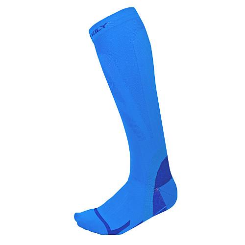 Компрессионные носки Носки для бега Нескользящие носки Спортивные носки Муж. Жен. Бег Отдых и Туризм Велосипедный спорт / Велоспорт Велоспорт Сохраняет тепло Дышащий Пригодно для носки 1 пара Зима фото