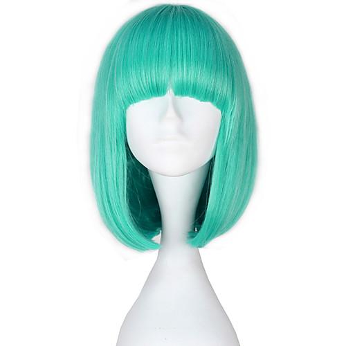 Парики для Лолиты Лолита Синий Прицесса Лолита Парики для Лолиты 14 дюймовый Косплэй парики Сплошной цвет Парики Хэллоуин парики фото