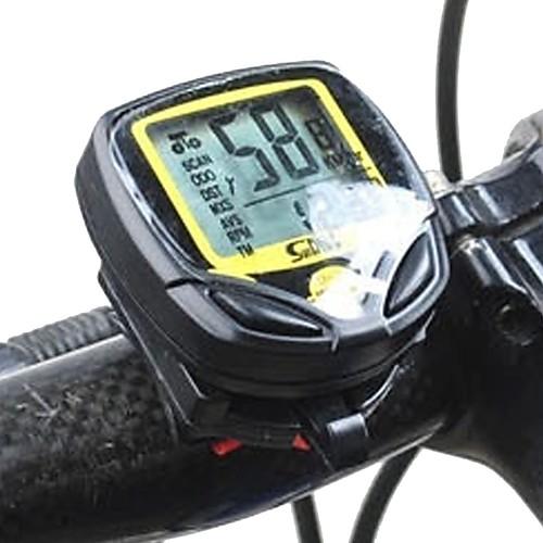 548C1 Велокомпьютер Водонепроницаемость Компактность Безпроводнлй Велосипедный спорт / Велоспорт Велоспорт фото