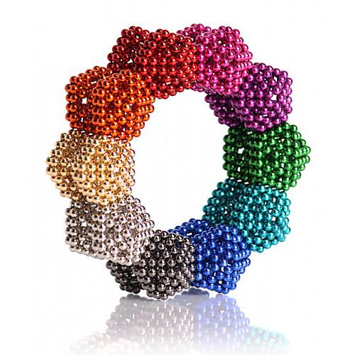 216/512/1000 pcs 5mm Магнитные игрушки Магнитные шарики Конструкторы Сильные магниты из редкоземельных металлов Неодимовый магнит Неодимовый магнит Классический и неустаревающий фото