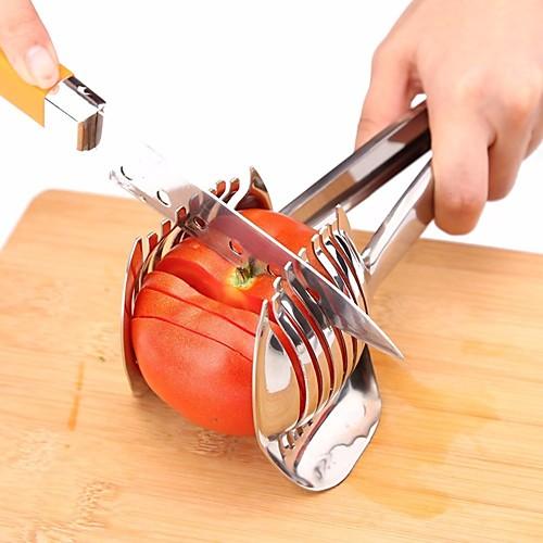 Нож для резки помидоров из нержавеющей стали лук держатель лайма нарезка фруктов картофель лимон измельчитель нарезать фото