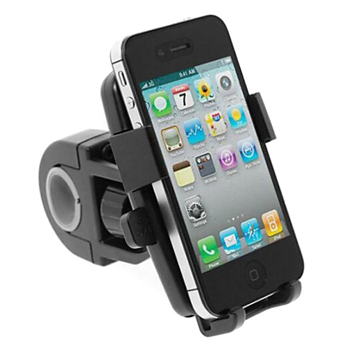 Bike Phone Mount GPS 360°Rolling / Rotatable Rotatable for Road Bike Mountain Bike MTB BMX Steel Stainless Synthetic ABS iPhone X iPhone XS iPhone XR Cycling Bicycle Black
