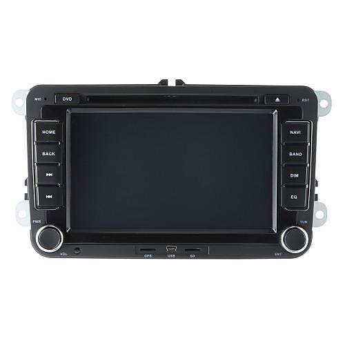 520WGNR04 7 дюймовый 2 Din Windows CE 6.0 / Windows CE В-Dash DVD-плеер Встроенный Bluetooth / GPS / iPod для Volkswagen Поддержка / RDS