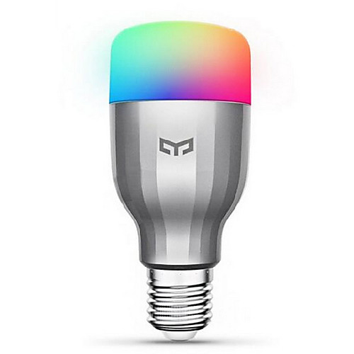 xiaomi yeelight 220v e27 smart led bulb16 миллионов цветов wifi позволила работать с amazon alexa / google home