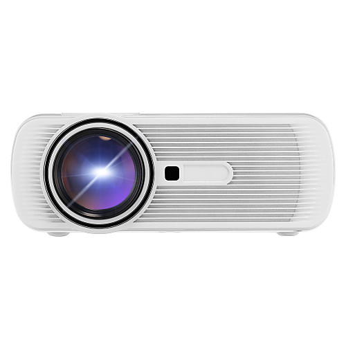 BL80 ЖК экран Проектор для домашних кинотеатров Светодиодная лампа Проектор 1500 lm Поддержка 1080P (1920x1080) 30-100 дюймовый Экран / WVGA (800x480) / ±15°, Белый