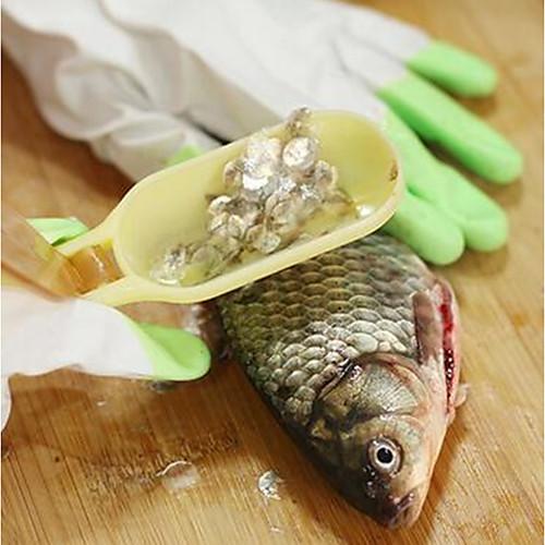 Пластик Режущие инструменты Простой Творческая кухня Гаджет Кухонная утварь Инструменты Повседневное использование Для приготовления пищи Посуда Для рыбы 1шт фото
