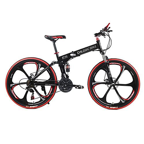 Горный велосипед / Складные велосипеды Велоспорт 21 Скорость 26 дюймы / 700CC SHIMANO TX30 Двойной дисковый тормоз Вилка Задняя подвеска Обычные Сталь / #, Белый, Горный велосипед / Складные велосипеды Велоспорт 21 Скорость 26 дюймы / 700CC SHIMANO TX30 Д