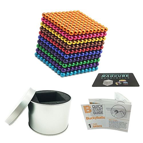 1000 pcs 5mm Магнитные игрушки Магнитные шарики Магнитные игрушки Конструкторы Сильные магниты из редкоземельных металлов Неодимовый магнит Магнитный фото
