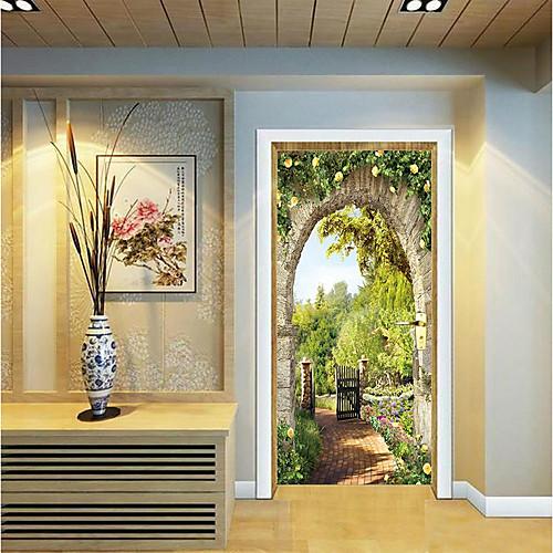 Декоративные наклейки на стены / Дверные наклейки - Простые наклейки / Праздник стены стикеры Геометрия / 3D Гостиная / Спальня фото