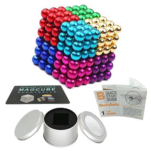 216 pcs Магнитные игрушки Магнитные шарики Магнитные игрушки Конструкторы Сильные магниты из редкоземельных металлов Неодимовый магнит Магнитный фото