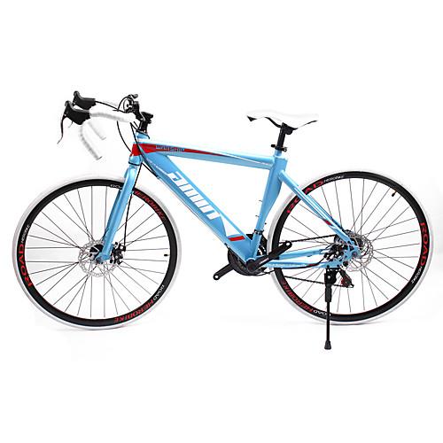 Дорожные велосипеды Велоспорт 21 Скорость 26 дюймы / 700CC SHIMANO TX30 Двойной дисковый тормоз Обычные Моноблок Обычные Сталь / #