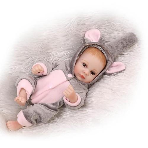NPKCOLLECTION NPK DOLL Куклы реборн Мальчики 12 дюймовый Полный силикон для тела Винил - Новорожденный Подарок Искусственная имплантация Коричневые глаза Детские Мальчики / Девочки Игрушки Подарок фото