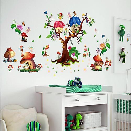 Декоративные наклейки на стены / Наклейки на холодильник - Простые наклейки / 3D наклейки Пейзаж / 3D Детская фото