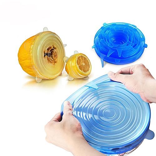 Универсальная силиконовая пищевая упаковка крышка-чаша силиконовая крышка кастрюля кухня вакуумная крышка герметик