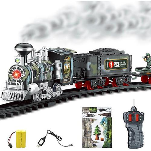 Игрушечные поезда и наборы Поезд Шлейф моделирование / утонченный / Взаимодействие родителей и детей Пластиковые & Металл Все Дети Подарок 1 pcs