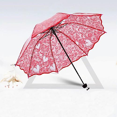 Пост ручки Свадьба / Повседневные Зонт Уникальный декор для свадьбы 80 см