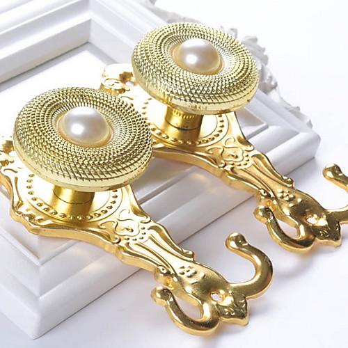 Curtain Accessories Металл Дверные крючки Металл Окно Лечение Коллекция