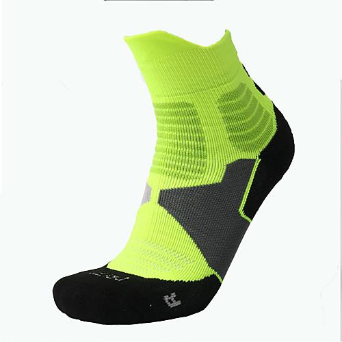 Компрессионные носки Носки до щиколотки Длинные носки Футбольные носки Спортивные носки Носки для велоспорта Муж. Велоспорт Велоспорт Отдых и туризм Фитнес, бег и йога 1 пара Зима Окрашенная пряжа фото