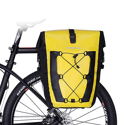 27 L Сумки на багажник велосипеда Сумка на багажник велосипеда Водонепроницаемость Компактность Дожденепроницаемый Велосумка/бардачок ТПУ 420D Нейлон Велосумка/бардачок Велосумка Велосипедный спорт