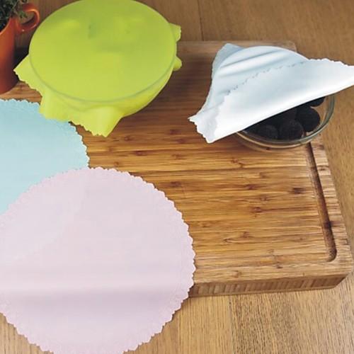 Силиконовая крышка чаши крышка холодильника консервант пленка многоразовые растяжимый пищевой контейнер крышка крышка кухня выпечки коврик инструмент фото
