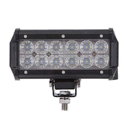 2pcs Для кроссовера / Для автоматического транспортера / Для трактора Лампы 36 W 3600 lm Светодиодная лампа Рабочее освещение, Черный