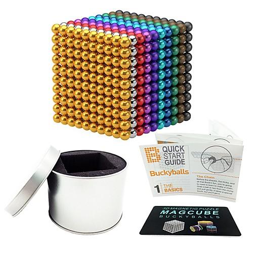 1000 pcs 5mm Магнитные игрушки Магнитные шарики Магнитные игрушки Конструкторы Сильные магниты из редкоземельных металлов Неодимовый магнит Неодимовый магнит Магнитный / Стресс и тревога помощи фото