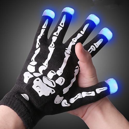 LED освещение LED перчатки Finger Lights Классика Осветительные приборы С открытыми подушечками пальцев Праздник Взрослые Все Игрушки Подарок фото