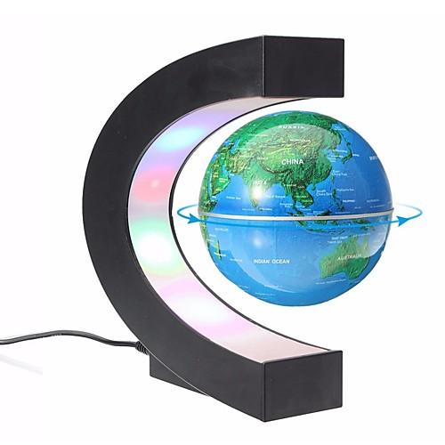 левитация антигравитационный глобус магнитный плавающий глобус карта мира учебные ресурсы домашнего офиса стол украшения, Золотой