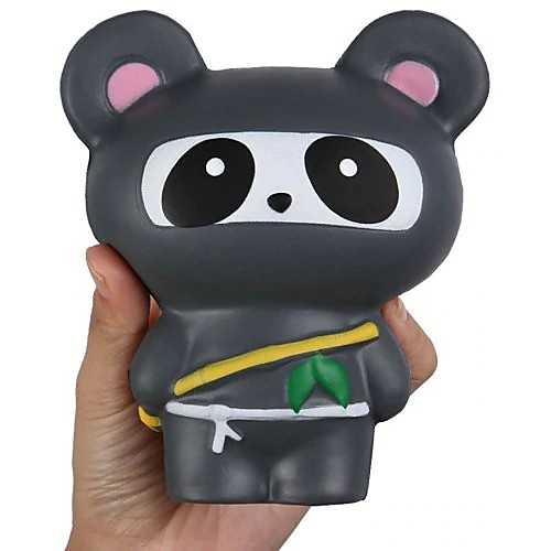 Резиновые игрушки Панда Декомпрессионные игрушки Поли уретан Все Игрушки Подарок фото