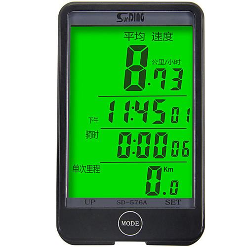 SunDing SD-576A Датчик модуляций скорости Водонепроницаемость Компактность Велоспорт Велосипеды для активного отдыха Односкоростной велосипед Велоспорт фото