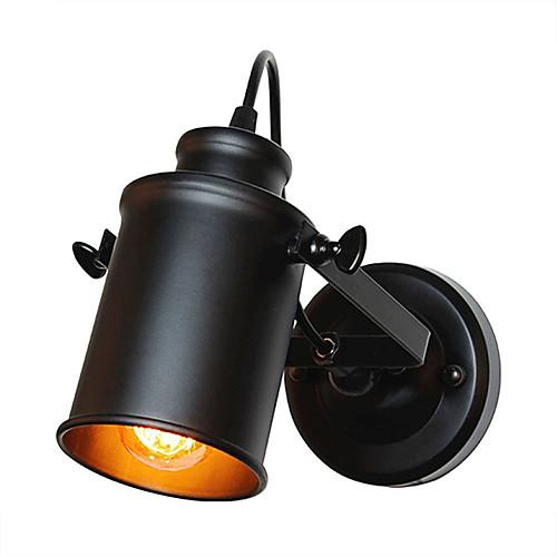 старинный черный металл чердак настенные светильники гостиная столовая прихожая кафе бары бар настенные бра