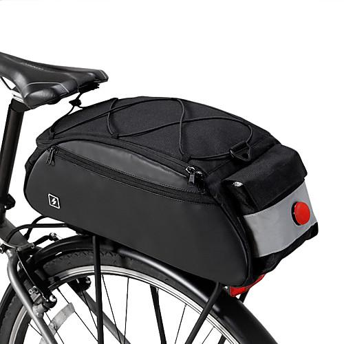 ROSWHEEL 10 L Сумки на багажник велосипеда Многофункциональный Большая вместимость Водонепроницаемость Велосумка/бардачок 600D нейлон Велосумка/бардачок Велосумка Велосипедный спорт