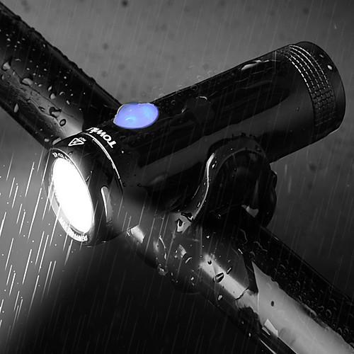 Светодиодная лампа Велосипедные фары LED подсветка Передняя фара для велосипеда Фары для велосипеда XP-G2 Горные велосипеды Велоспорт Велоспорт Водонепроницаемый Портативные Простота установки Прочный фото