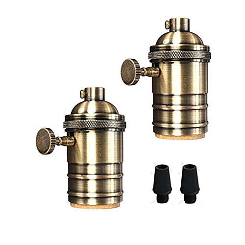 oylyw 2шт E26 / E27 100-240 В аксессуар для лампочки из алюминия