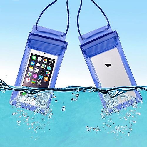 Защитная сумка Сотовый телефон сумка Мобильный телефон сумка для Дожденепроницаемый Водонепроницаемаямолния 6 дюймовый ПВХ 15 m фото