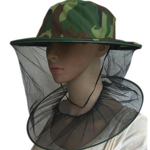 Муж. / Жен. охотничья шапка Дышащий, Защита от насекомых, Защита от комаров Отдых и Туризм / камуфляж фото