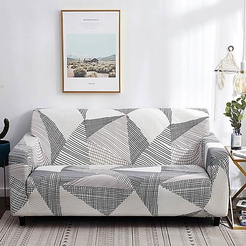 Накидка на диван Современный стиль Активный краситель Полиэстер Чехол с функцией перевода в режим сна