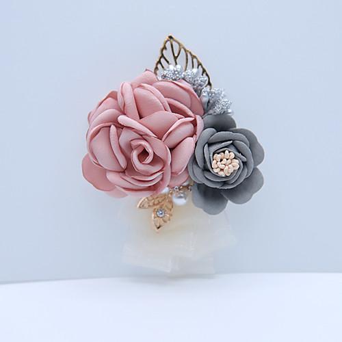 Свадебные цветы Бутоньерки Свадьба / Особые случаи Другие материалы 3.94 дюймовый