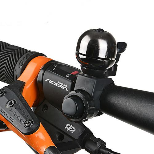 Звонок на велосипед Водонепроницаемость 360 Вращающаяся С сигнализацией для Горный велосипед Складной велосипед Велосипеды для активного отдыха Велоспорт Латунь ПВХ Черный