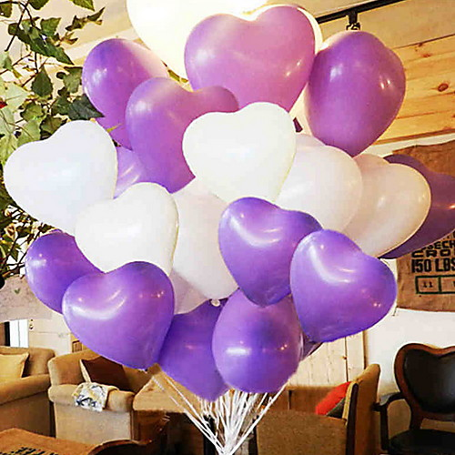 Праздничные украшения День Святого Валентина Декоративные объекты Для вечеринок Лиловый 1шт